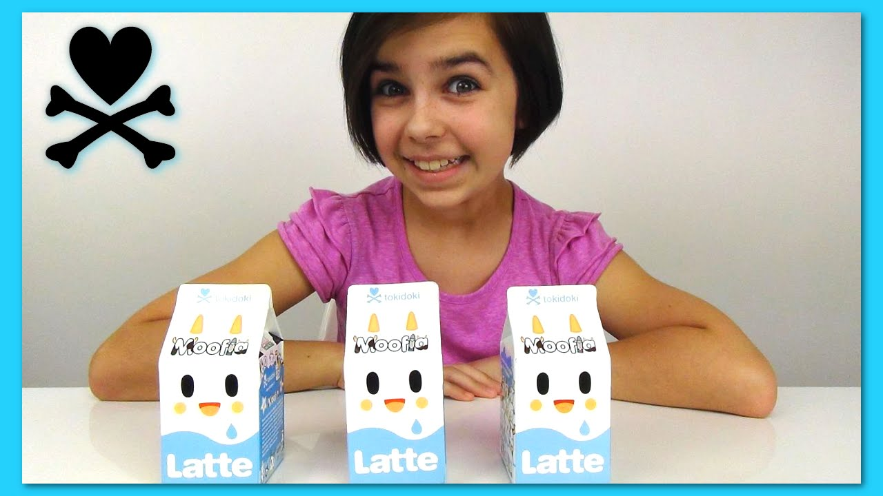 Tokidoki Moofia Latte Milk Surprise Blind Box Opening