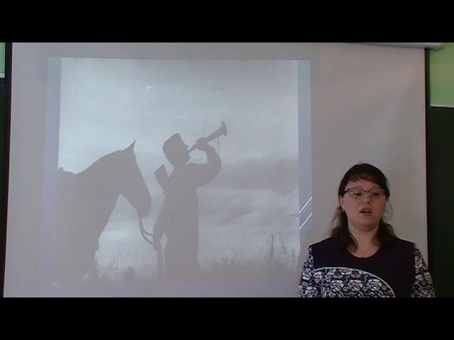Изображение предпросмотра прочтения – АннаБороздина читает произведение «Петроградское небо мутилось дождем» А.А.Блока