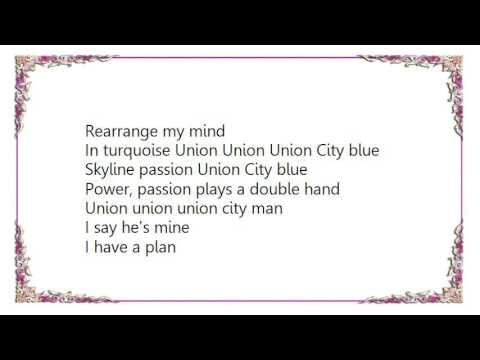 Blondie - Union City Blues Lyrics