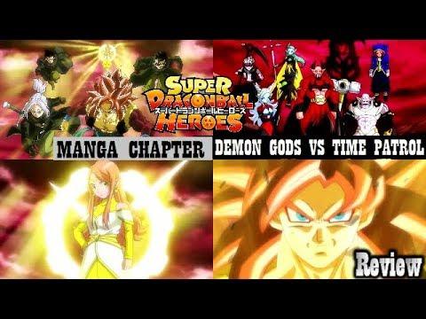 Dragon Ball Heroes Manga Chapter 11 Review Time Patrol vs Demon God's &  Chronoa's Last Stand!