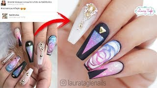 Download Video EXPECTATIVA VS REALIDAD EN UÑAS / #RecrealoLauraTagle MP3 3GP MP4