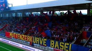 Fans: FC Basel Fans in Thun - 05.08.2017