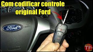 Como programar controle original do Ford Focus , New Fiesta , Novo Ecosport , Fusion e Nova Ranger