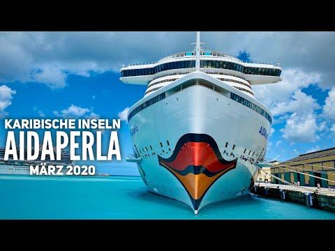 Karibische Inseln mit AIDAperla - März 2020