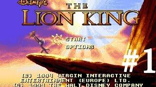 Lion King (Sega) прохождение игры: Часть 1