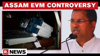 EVM Found In BJP MLA's Car In Assam; EC Suspends 4 Officials, Orders Re-polling In Booth