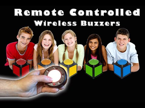 Wireless Buzzers Stand-alone No Computer Required - DigiGames