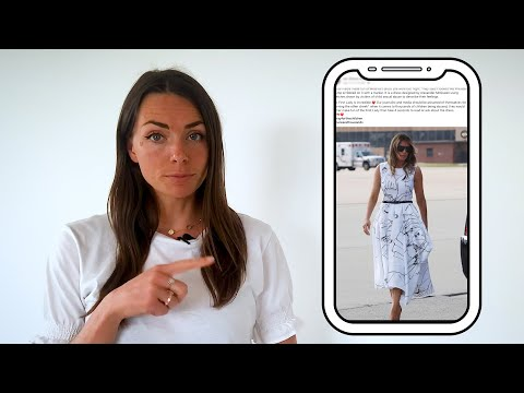 Fact check: Melania's Mount Rushmore dress