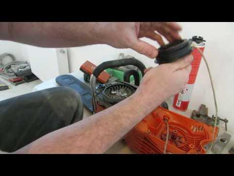 Бензопила CARVER - оторвал шнур стартера  ?...