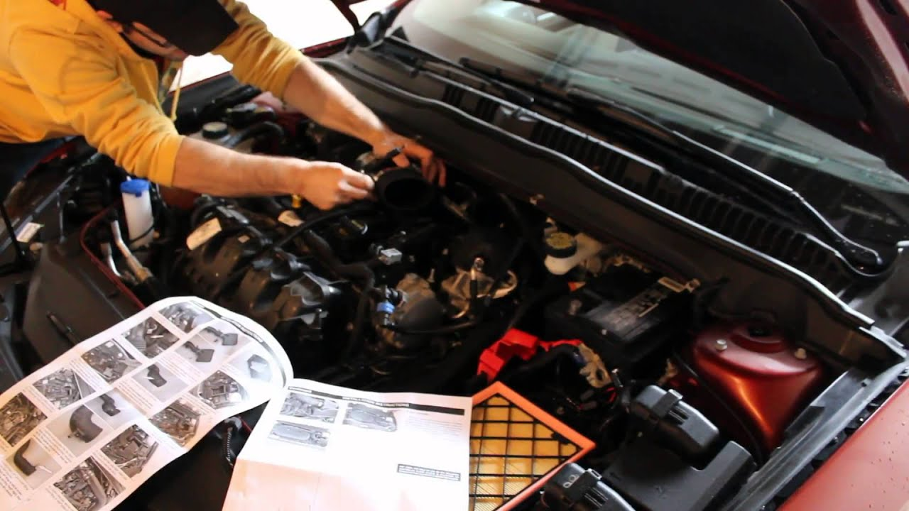 How To Install An Air Intake On A 2013 2014 2015 Ford