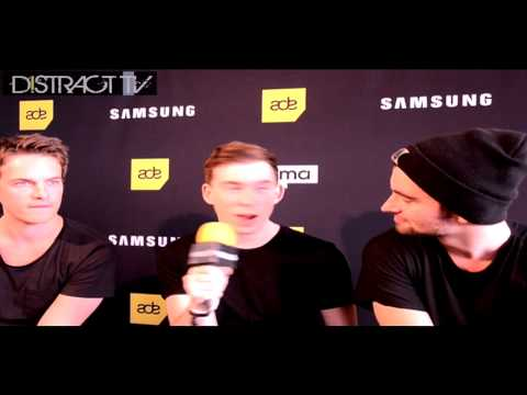 Dyro,Hardwell Dannic Interview ADE Festival Distract TV