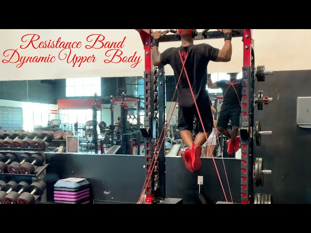 ABT- Athletic Based Training: Dynamic Upper Body with Resistance Bands