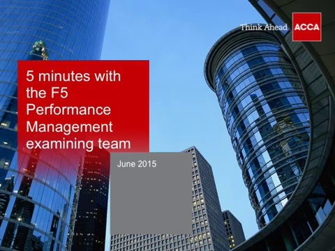 PM guidance from the examining team   ACCA Global