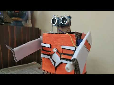 How To Make Humanoid #Robot|| Assistant Robot Jarvis  || Arduino  Projects ||Ideas By Suyash Desai