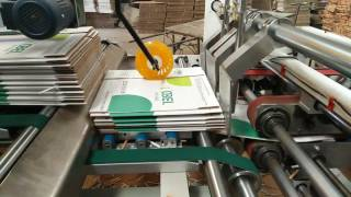 Product Description XY-QZD automatic folder gluer is consist of thr...