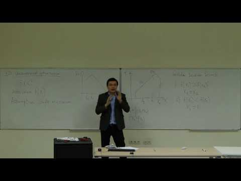Computational Physics Lecture 13, One-Dimensional Unconstrained Optimization