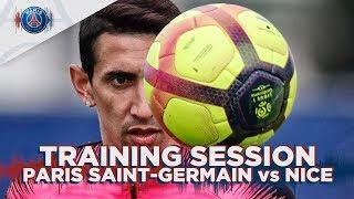TRAINING SESSION - PARIS SAINT-GERMAIN vs NICE