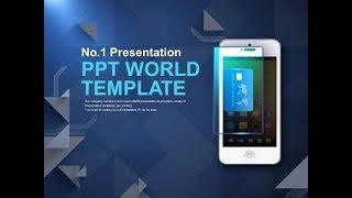 서비스 돈 PPT 템플릿 모바일 카드결제(자동완성형포함…