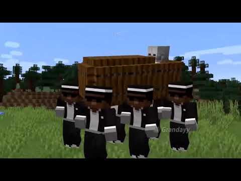 Minecraft Негры танцуют с гробом