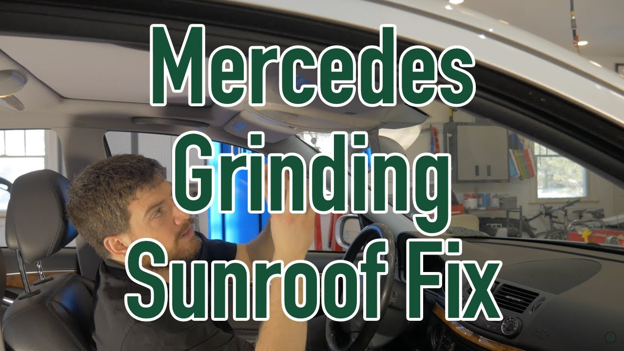 Mercedes Grinding Sunroof Fix Youtube 2004 S500 Fuse Box Diagram