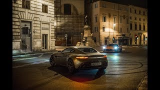 Spectre (2015) Car Chase Scene - Aston Martin DB10 and Jag C-X75