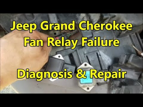 Engine Fan Relay Fix: 4 0 Jeep Grand Cherokee - Overheating Issues Solved  (99-03)