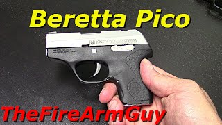 Beretta Pico (Not Impressed) - TheFireArmGuy