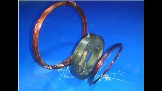 How to make free energy coil generator models 2018_New science exhibition invention project easy