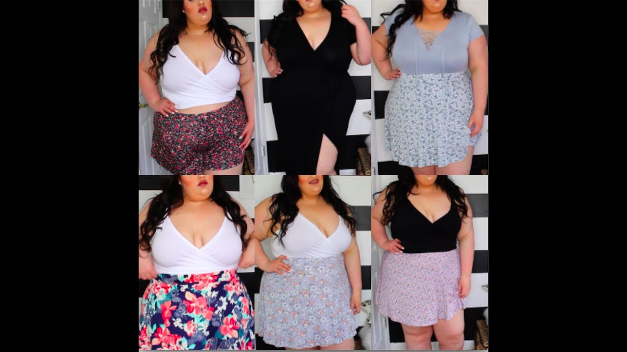 Plus Size Spring Try On Haul ft. Wet Seal & Forever21+