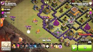 GUERRA ENTERA CONTRA FURIAROJA5 - Clash Of Clans