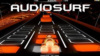 Audiosurf Walktrought  Disturbed   Indestructible