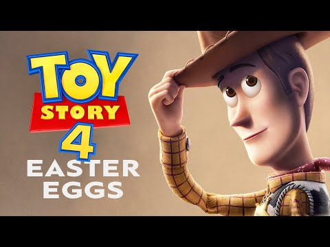 The Best Easter Eggs in TOY STORY 4