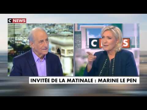 Marine Le Pen l'invitée politique 23/10