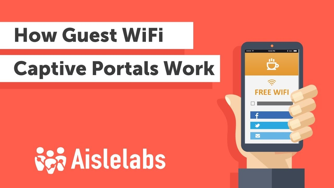 How Guest WiFi Captive Portals Works: Social WiFi User Experience Explained  (Aislelabs)