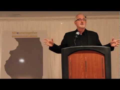 Robert Egger at Illinois Nonprofit Conference 2012