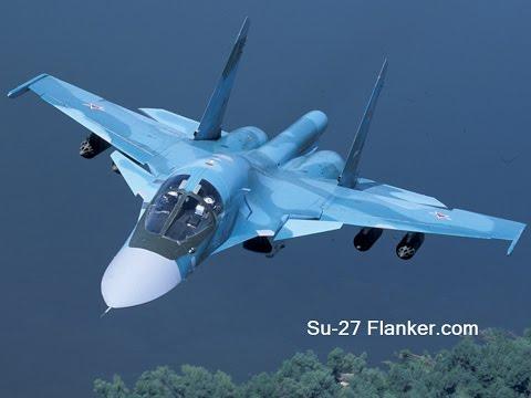 挑戰新聞軍事精華版--俄製「Su-34」戰鬥轟炸機介紹
