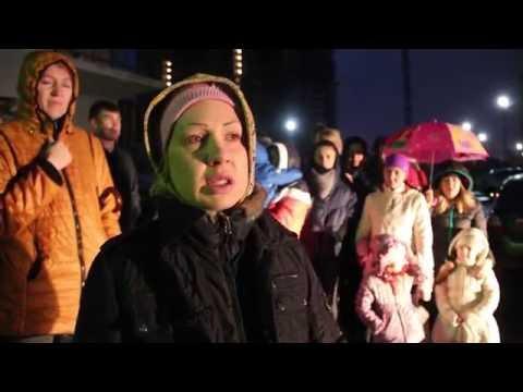Жители поселка Юбилейный Саратова требуют установить светофор