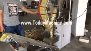 Full Automatic Vertical Packing Machine,mayonnaise Packing,liquid Filling Machine,bag Sealer,bubble