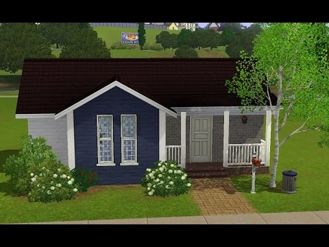 Sims 3 house building starter home home sweet home for Small starter homes