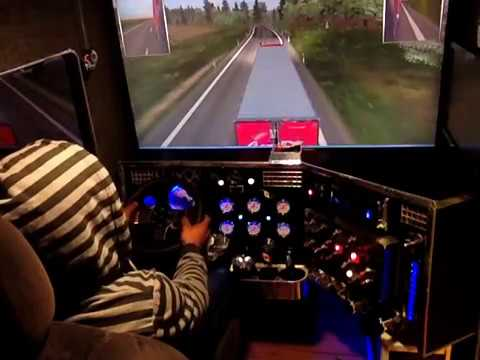 euro truck simulator 2 kenworth t800 - YouTube