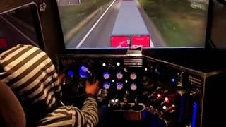 видео как убрать лаги и вылеты  в Euro Truck Simulator 2