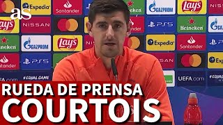 REAL MADRID | Rueda de prensa de COURTOIS previa al SHAKHTAR | Diario AS