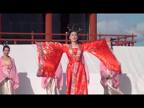 4K2014平城京祭中国舞踊
