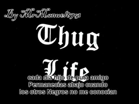 2pac & Thug Life - How Long Will They Mourn Me (Subtitulado By MrManuel8751)