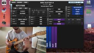 Guitar Synthesizer Plugin! (MIDI Guitar 2 demonstration/how to get synth sounds with a guitar)
