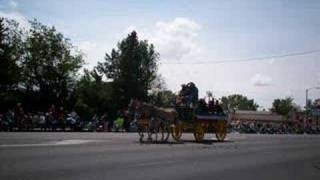 Bishop, California Mule Days Parade