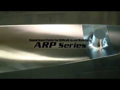 Mitsubishi Materials ARP Face Milling Cutters For Difficult to Cut Materials
