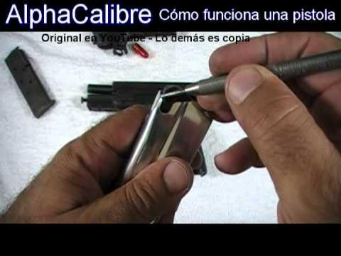 Cómo Funciona Una Pistola