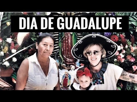 DIA DE GUADALUPE 2018 - ANTIGUA, GUATEMALA - TRAVEL WITH KIDS