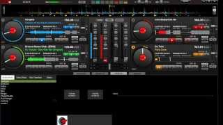 Virtual DJ 4 platos cantaditas rememeber Hardance mix